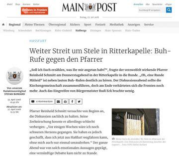 Zum Artikel von Stefan Burkard in der Main-Post © Stefan Burkard