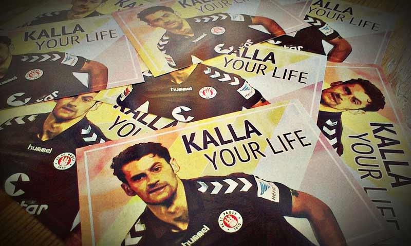 Liebevoll gestaltete Sticker von Jan-Philipp Kalla vom FC St. Pauli © blocknachbarn-sanktpauli.de