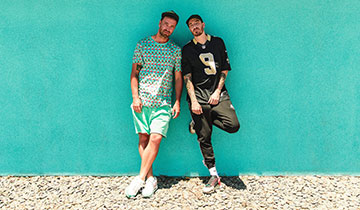 Die Rapper Marteria (links) und Casper © magneticmeat