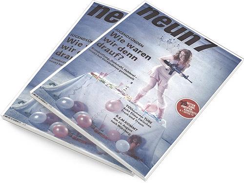 Die neun7 war ein Wochenmagazin der Mediengruppe Main-Post.