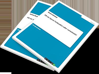 """Zum Buch """"PR im Sport: Verkaufen oder vermitteln"""" von Stefan Burkard bei Amazon"""